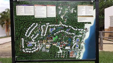eco resort map and peacock on the grounds picture of sandos