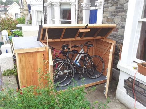 Bike Shed Ideas by 25 Best Ideas About Bike Shed On Outdoor Bike