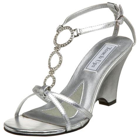 silver sandal heels for wedding touch ups s arlene wedge sandal shoes