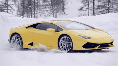 Lamborghini Driving Lamborghini Brings Winter Driving Academy To U S