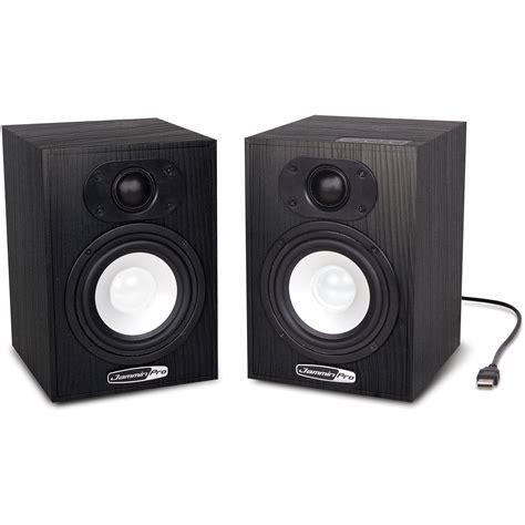 Speaker Monitor jammin ns 5 4 quot 2 way usb studio monitor speakers pair ns5