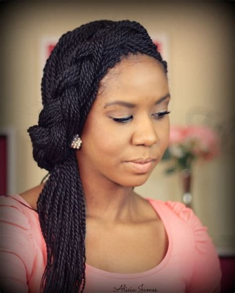 Twist Braids Hairstyles by 50 Thrilling Twist Braid Styles To Try This Season