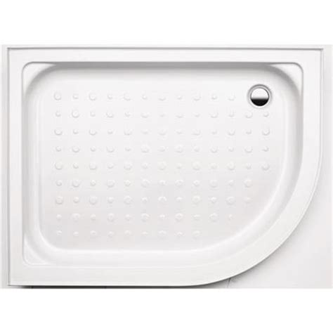 Coram Shower Trays With Upstands by Coram Universal Offset Shower Tray With Upstands