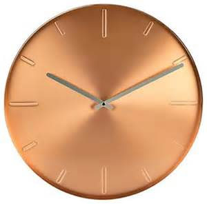Modern Wall Clocks karlsson belt wall clock copper modern wall clocks