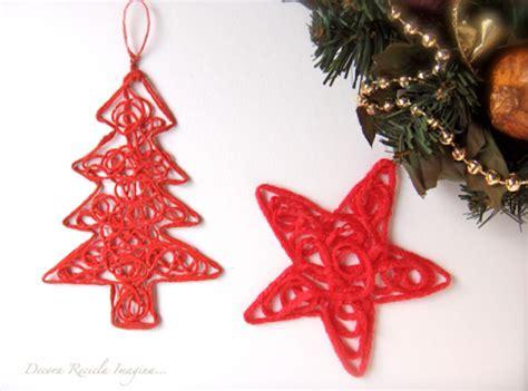 diy ornaments yarn diy yarn ornaments diy tag