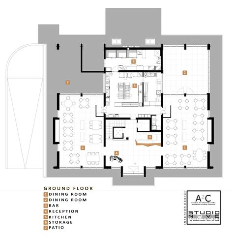 ground floor 3 bedroom plans 28 images hotel vincci gallery of inkiostro restaurant studio nove a2c 26