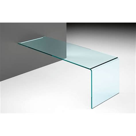 Wall Mounted Table L by Fiam Rialto L Wall Mounted Desk 160cm Panik Design