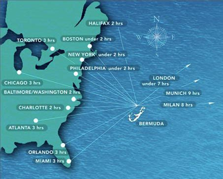 map of bermuda and us bermuda not in the caribbean paddy s travels