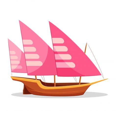 imagenes de barcos animados dibujos animados de barco xebec descargar vectores premium