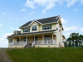 Modern Prairie Style Homes Yellow Country Farmhouse Farmhouse Exterior Other