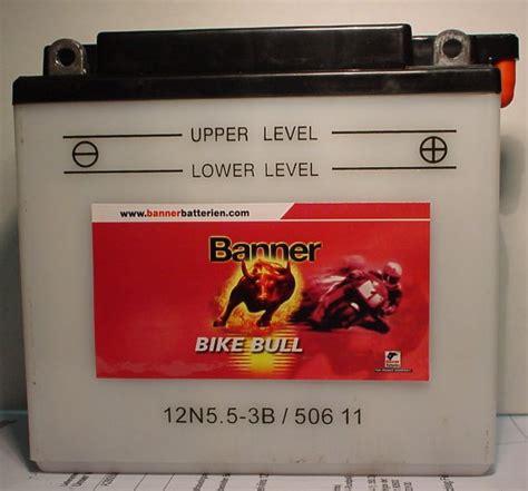 Motorradbatterie 12v 5ah by Motorradbatterie 12v 5 5ah C20 Batterie Ecke