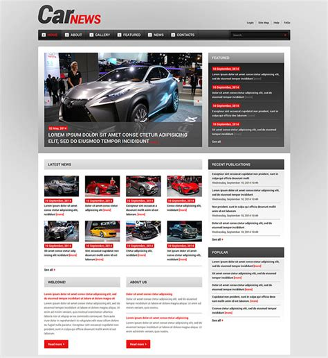 10 Racing Joomla Themes Templates Free Premium Templates Joomla Automotive Template