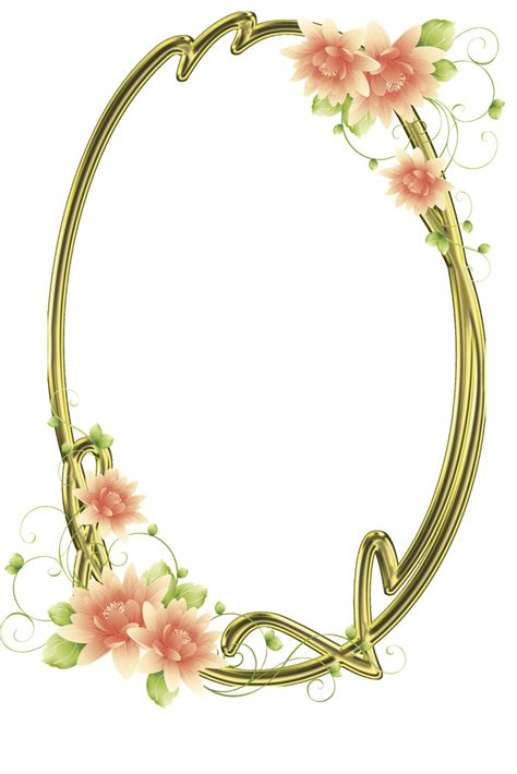 cornici photoshop central photoshop frames png oval flores