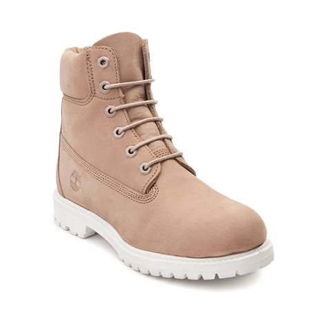 womens timberland 6 premium boot light brown 538559