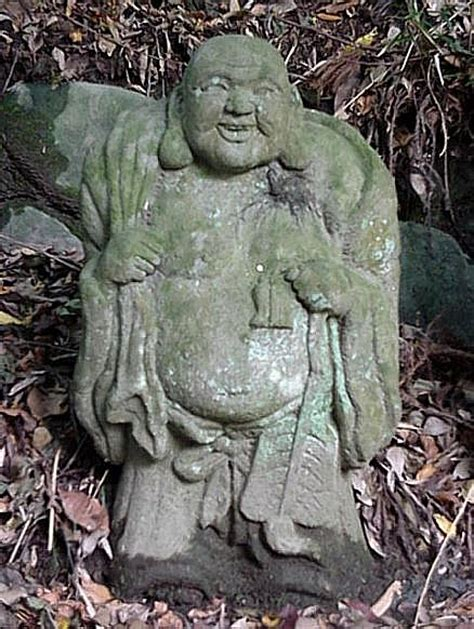 hotei god  contentment  happiness japanese buddhism photo dictionary project