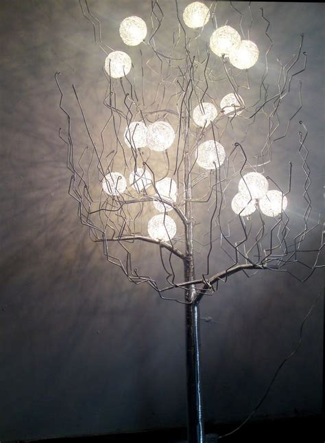 repurpose tree branch to lighting let there be light