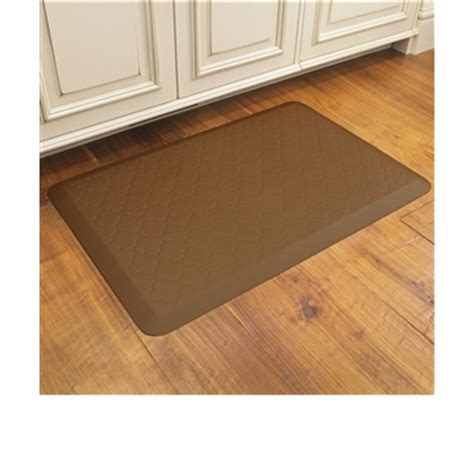 Cushioned Kitchen Mat by Wellnessmats Cushioned Kitchen Floor Mat Trellis 3 X2