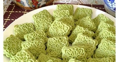 kenneth goh new year cookies matcha almond cookies 绿茶翡翠饼干 guaishushu kenneth goh