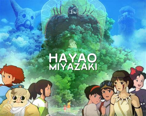 film anime full movie hayao miyazaki wallpapers wallpaper cave