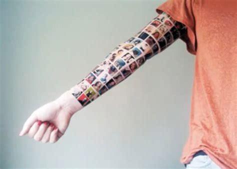 tattoo girl on facebook girl tattoos 152 facebook friends on her arm smosh