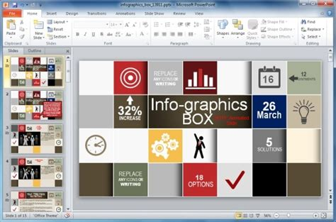 How To Create Infographics Using Powerpoint Free Infographic Templates Powerpoint