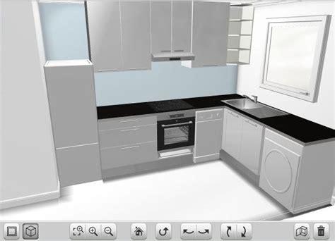 Exceptionnel Meubles Sous Evier Ikea #5: avis-implantation-petite-cuisine-cuisineikea1.jpg