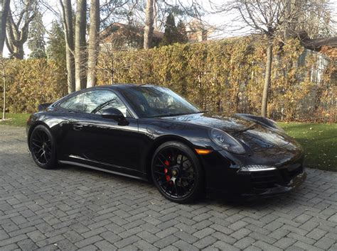 porsche 911 gts black 2016 porsche 911 4 gts