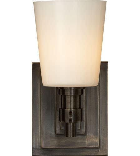 visual comfort bryant sconce visual comfort thomas o brien bryant single bath sconce in