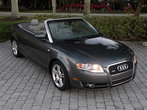 2007 audi a4 3 2 quattro 0 60 2007 audi a4 2 0t quattro convertible fl for sale in fort