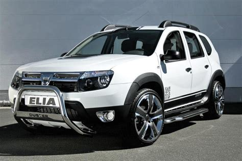 renault duster white elia dacia duster suv the german company dressed dusters
