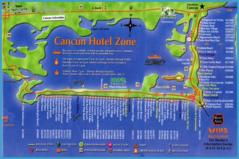 map of mexico with cancun maps update 594289 cancun tourist map cancun mexico