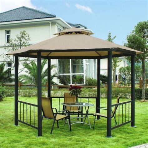 Tenda Rumah Big gazebo ruang relaksasi di halaman belakang rumah rumah