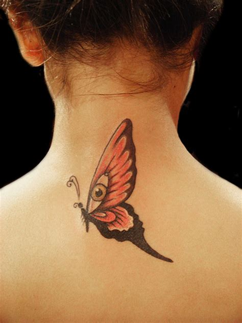butterfly tattoo designs on neck 71 sweet butterfly neck tattoos