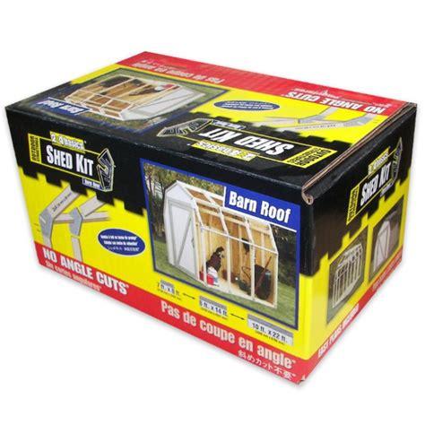 2x4 Shed Kit by 2x4 Basics Diy Shed Kit Barn Roof Style Budk