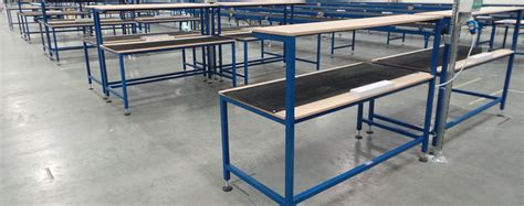 assembly benches electrical assembly bench manufactured by spaceguard