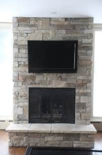 Fireplace Stones Stone Fireplaces And Tvs Traditional Family Room