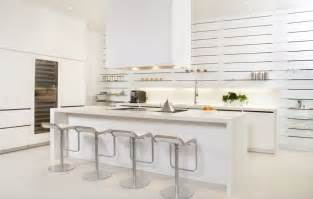 Kitchen Furniture White Kitchen Design Ideas Modern White Kitchen Why Not