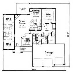 2200 Square Foot House Plans by 2200 Square Feet 4 Bedrooms 2 Batrooms 2 Parking Space