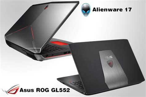 Which Laptop Is Asus Or Dell asus rog gl552 v s dell alienware 17 s on versus by compareraja