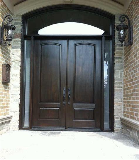 Two Front Doors Executive Doors Front Entry Doors Fiberglass Doorswoodgrain Fibergllass Solid Front Door