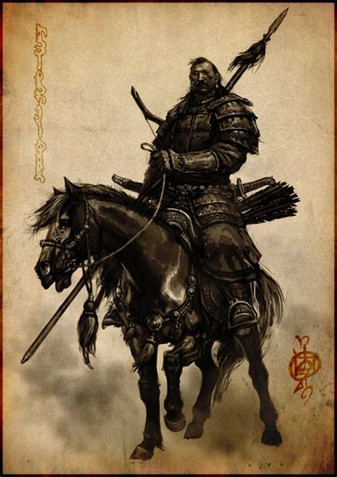 mongolian tattoo designs mongol warrior samurais such