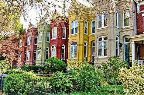 row house history historic row homes dc rowhouse