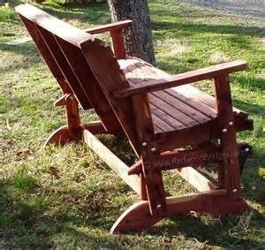Woodworking garden bench glider plans pdf free download