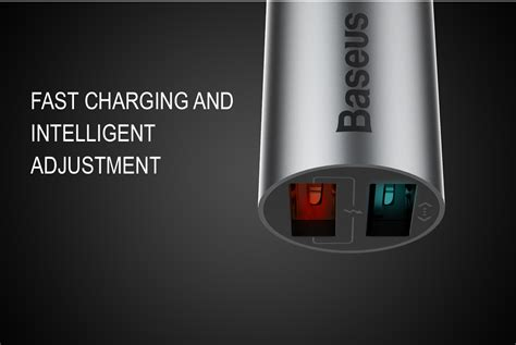 Baseus Carq Series Charge 30 Dual Usb For Car Charger original baseus carq series dual usb 2 4a qc3 0 18w charge car charger alex nld