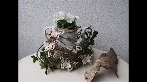 fruehlingsdeko bepflanzte teekanne tischdeko youtube