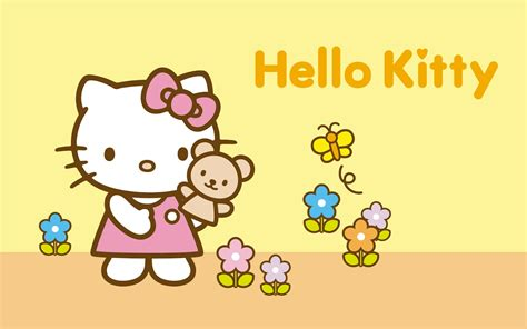 hello kitty summer hello kitty summer desktop wallpaper wallpapersafari