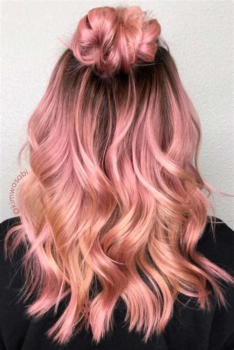 Pink Hair Brown Shadow Root Chocolate Strawberry Ombre Of Chocolate Strawberry Hair Color 25 Best Dyed Hair Ideas On Awesome Hair Hair Colour And Galaxy Hair Color