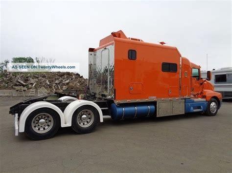 Cat Truck With Sleeper by 2005 Kenworth T600 Sleeper Motorhome Toterhome Rv Cat