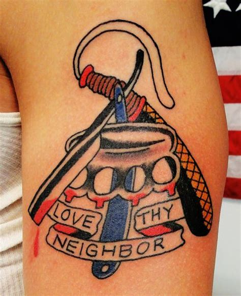 love thy neighbor tattoo 185 best brets traditional portfolio images on