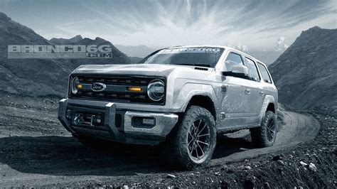 new bronco new ford bronco rendering adds two doors and removes the roof